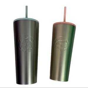 NWT Starbuck Ombre Duo Stainless steel Tumbler